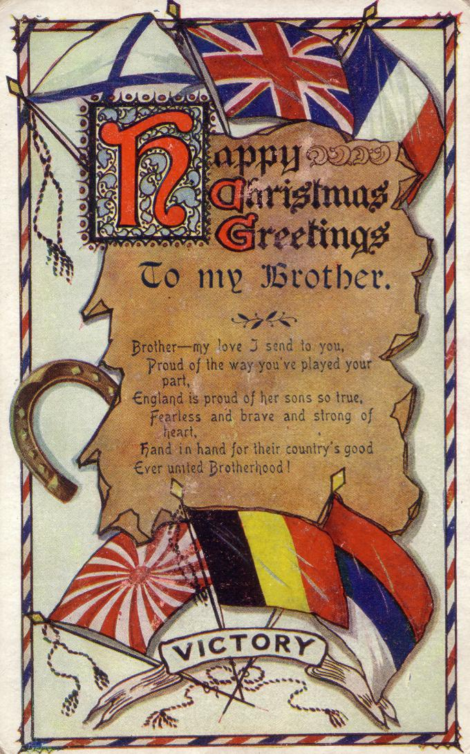 Happy christmas greetings wartime canada a window into the canadian experience during the world wars m4hsunfo