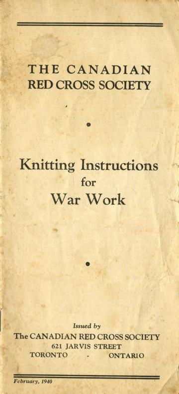 Knitting Websites Canada : Quot knitted articles for all branches of the service