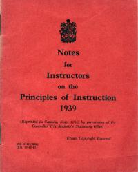 Notes aux instructeurs