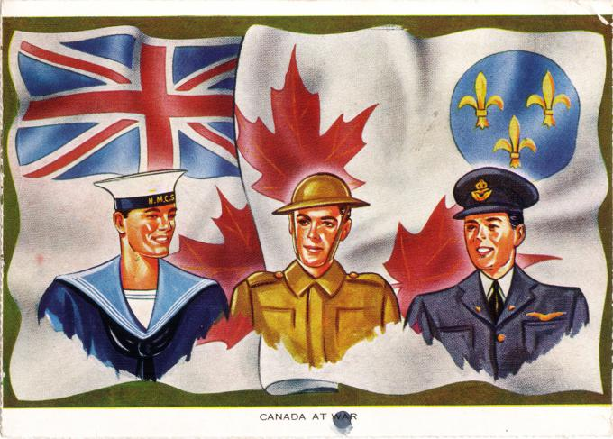 Army, Navy and Air Force   Wartime Canada